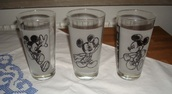 home accessory,disney,mickey mouse,black,white,grey,minnie mouse