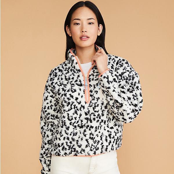 Leopard Print Cozy Up Zip Jacket