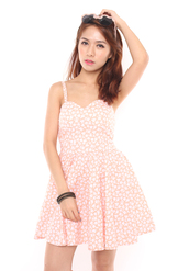 skater dress,navy dress,skater dress with cut outs,coral dress,floral dress,spaghetti strap,molded cup