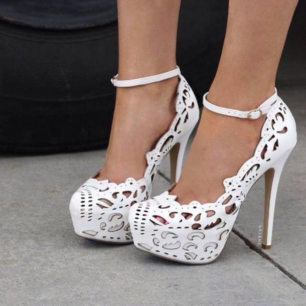 0389434c386 shoes heels amazing shoes women s fashion boutique high heels white shoes  white platform shoes platform high