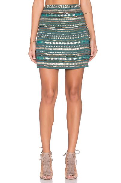 TULAROSA skirt green