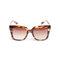 Quay supine tortoise square plastic sunglasses