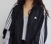 jacket,adidas,black,white,youtube,tumblr,instagram