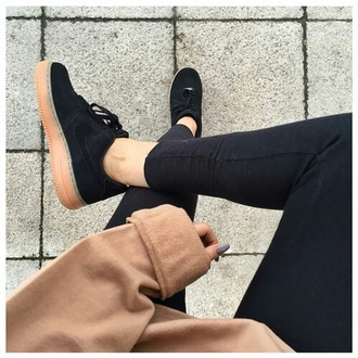 shoes sneakers nike nike sneakers nike shoes black black shoes