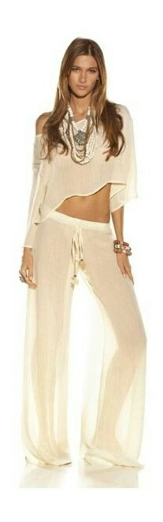 blouse white crop tops sheer pants sexy party dresses
