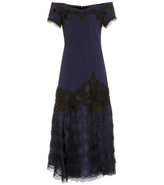 Jonathan Simkhai dress lace blue