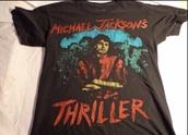 thriller,michael jackson,shirt