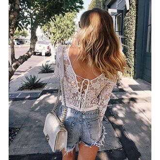underwear the jetset diaries bodysuit one piece white lace lace bodysuit monokini tie up criss cross cross back bodysuit cross back boho chic boho chic lace up
