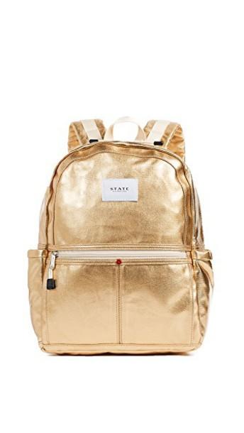 STATE backpack gold bag