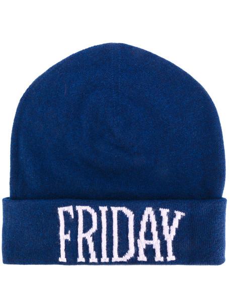 friday beanie blue hat