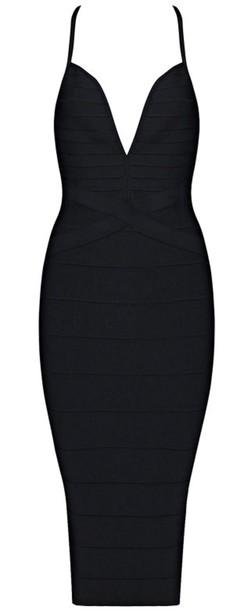 dress dream it wear it dress black black dress black dress plunge neckline  plunge v neck d00c26376