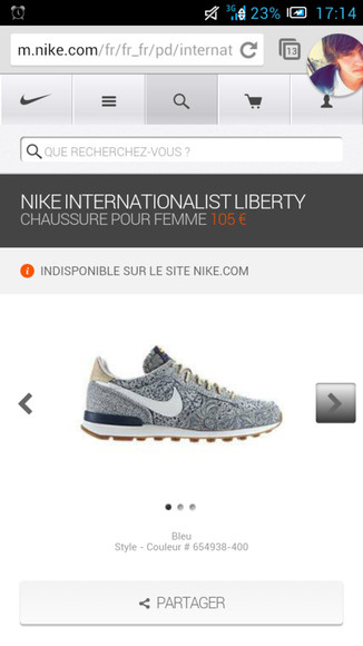 shoes liberty internationalist