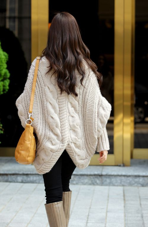 Wholesale Fashion Cable Knit Long Sleeves Open Front Winter Cardigan For Women (BEIGE,ONE SIZE), Sweater & Cardigan - Rosewholesale.com