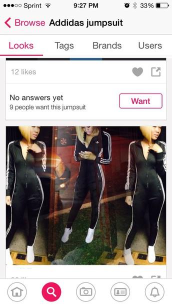 jumpsuit tracksuit adidas