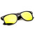 Flat Matte Black Revo Color Lens Wayfarer Sunglasses 8025