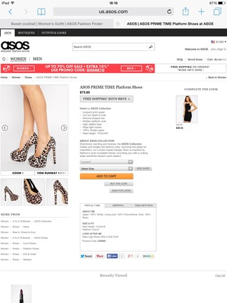 shoes aso style swag super leopard print shoes high magic basic