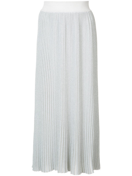 Adam Lippes skirt women knit grey