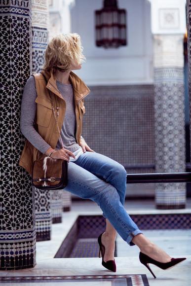 zanita blogger bag jeans jacket