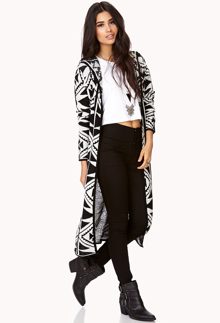Well-Traveled Maxi Cardigan | FOREVER21 - 2000111912