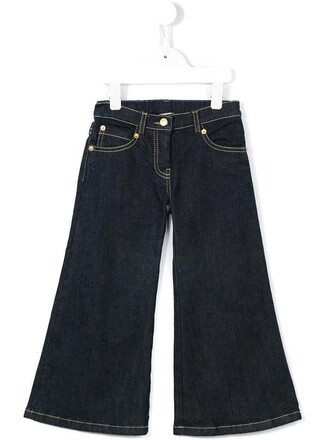 jeans girl toddler blue