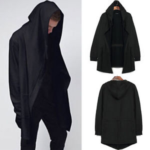 Women Sweatshirt Hoodie Hooded Cardigan Outerwear Cape Cloak Coat ...