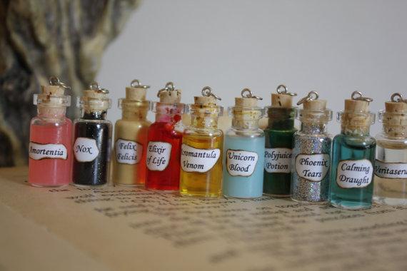 Custom potion bottle