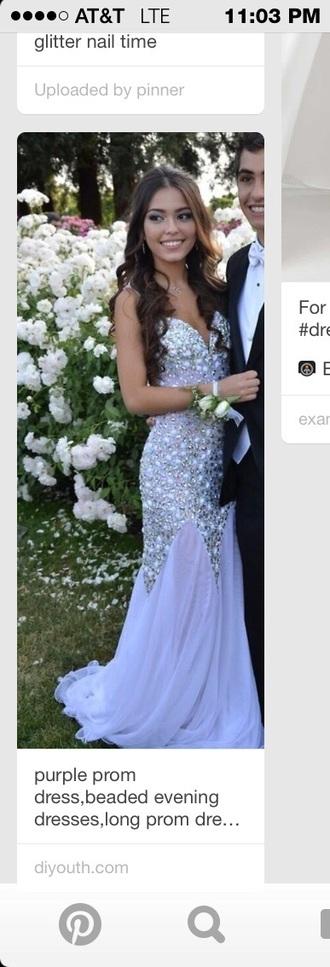 dress lavender prom dresses sequin dress