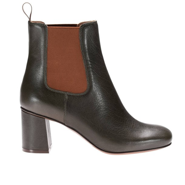 LAutre Chose booties shoes women shoes booties green