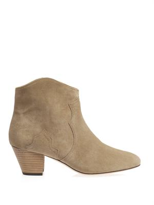 Dicker suede boots | Isabel Marant | MATCHESFASHION.COM