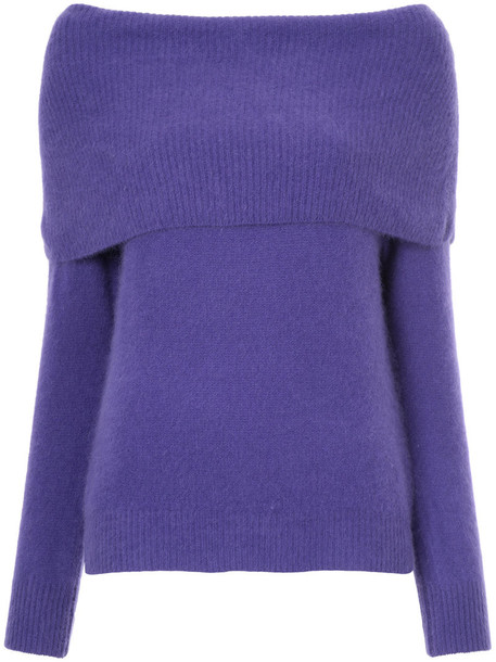 Cityshop jumper women wool purple pink sweater