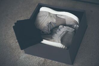 shoes kanye west grey sneakers