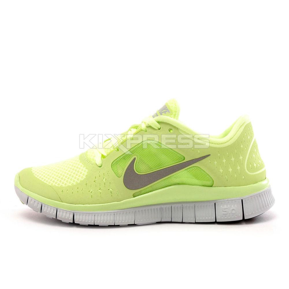 Wmns Nike Free Run 3 510643 300 Running Liquid Lime Reflect Silver Volt | eBay