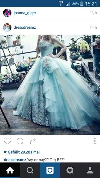 dress prom dress gown ball gown dress