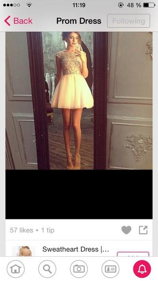 dress prom dress pearls prom dresses 2014 glitter dress