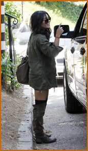 shoes,vanessa hudgens,over the knee boots,over the knee