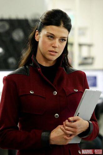 jacket agents of s.h.i.e.l.d bobbi morse cosplay red jacket