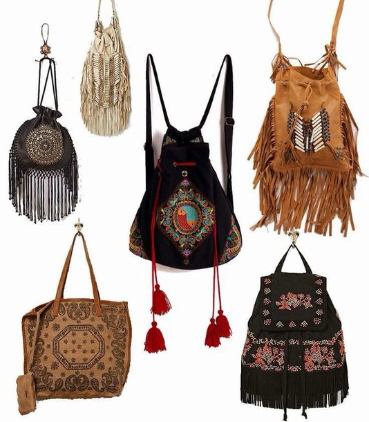 Bag Purse Boho Chic Boho Hippie Shoulder Bag Cute