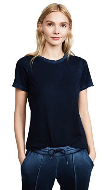 Cotton Citizen classic vintage navy top
