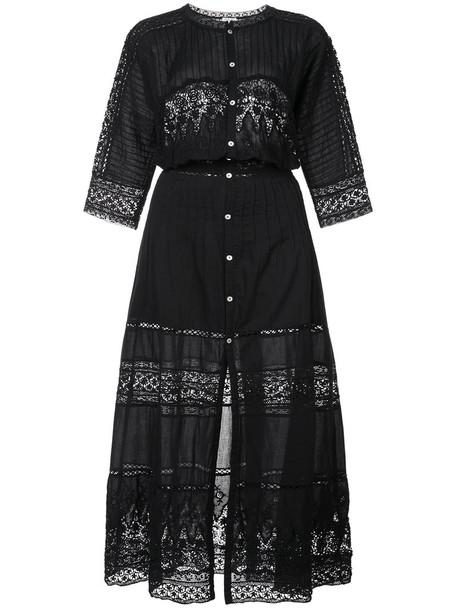 dress lace dress women lace cotton black