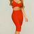 'Vita' Two Piece Bandage Dress in Red from Tumblr Fashion on Storenvy