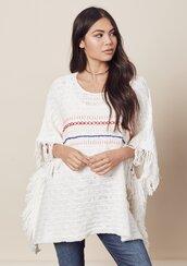 blouse,poncho,cotton,light,white,stripes,beach,lovestitch,boho,bohemian,spring,bathing suit cover