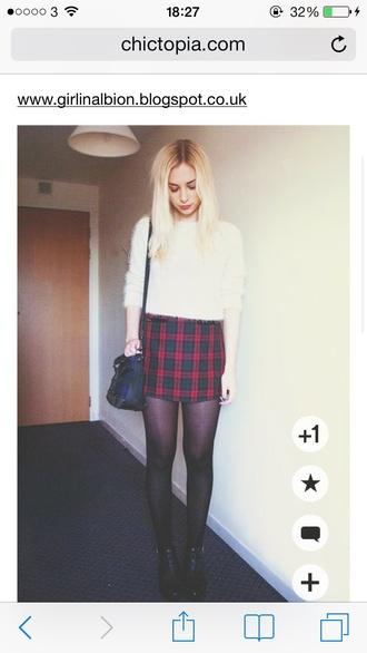 skirt tartan
