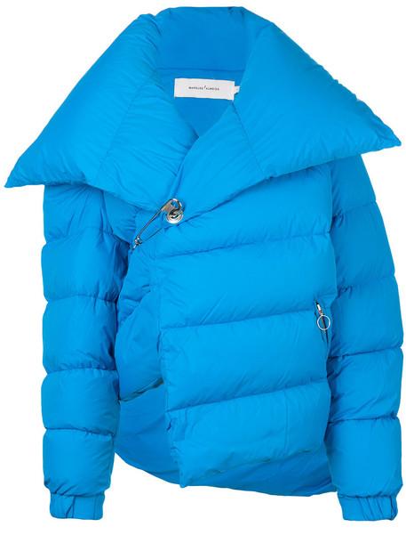jacket down jacket women blue