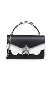 satchel,mini,bag,satchel bag,white,black