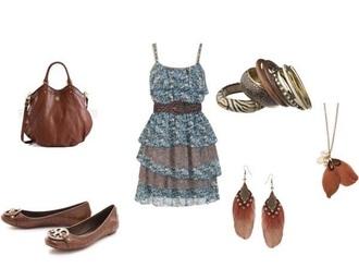 dress blue dress cute dress jewels