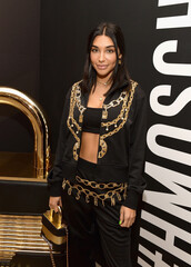 pants,chantel jeffries,celebrity,sweatpants,sweatshirt,jacket