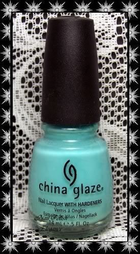 China glaze *~for audrey~* nail polish nail lacquer something blue collection