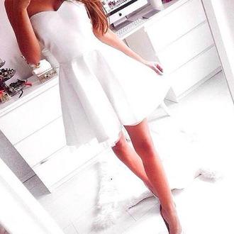 white dress nice cute dress nice dress