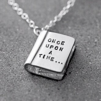 jewels once upon a time silver necklace