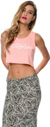 STUSSY NEON CROP TANK > Womens > Clothing > Tanks | Swell.com